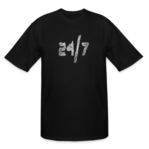 24/7 with ABG - Men's Tall T-Shirt