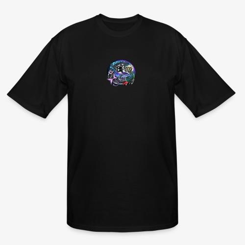 Mother CreepyPasta Nursery Rhyme Circle Design - Men's Tall T-Shirt
