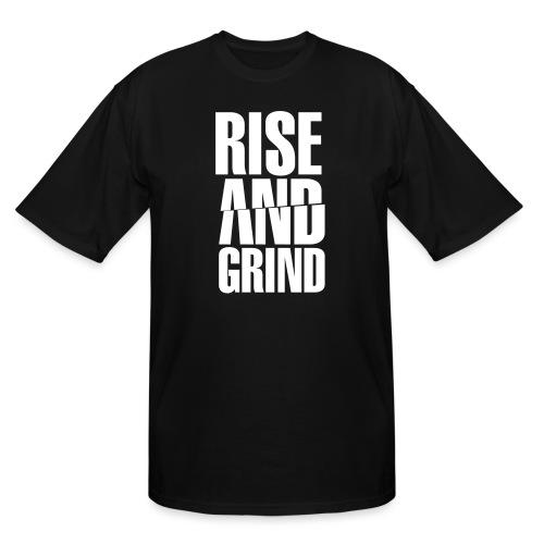 Rise & Grind - Men's Tall T-Shirt