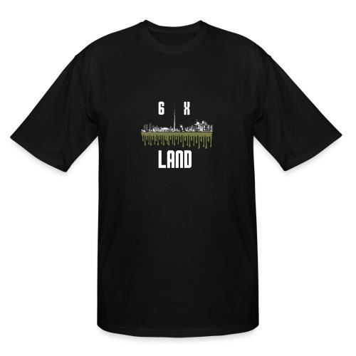 6ixland Logo - Men's Tall T-Shirt