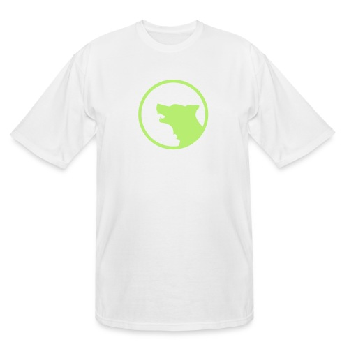 Wolf Silhouette Vector - Men's Tall T-Shirt