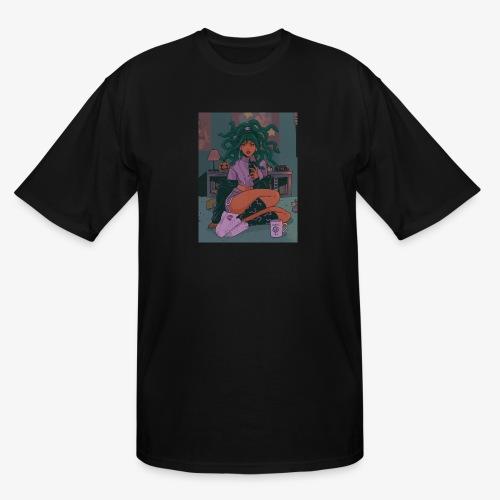 Medusa Girl - Men's Tall T-Shirt