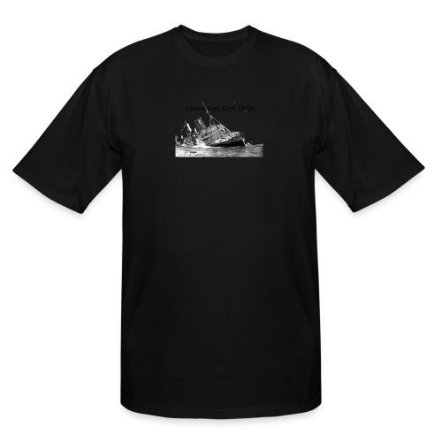Enron Scandal Joke - Men's Tall T-Shirt