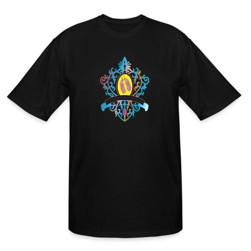 peacock love logo - Men's Tall T-Shirt