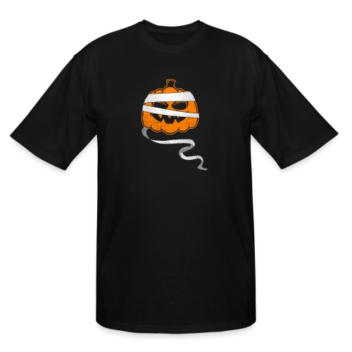 Halloween Bandaged Pumpkin - Men's Tall T-Shirt