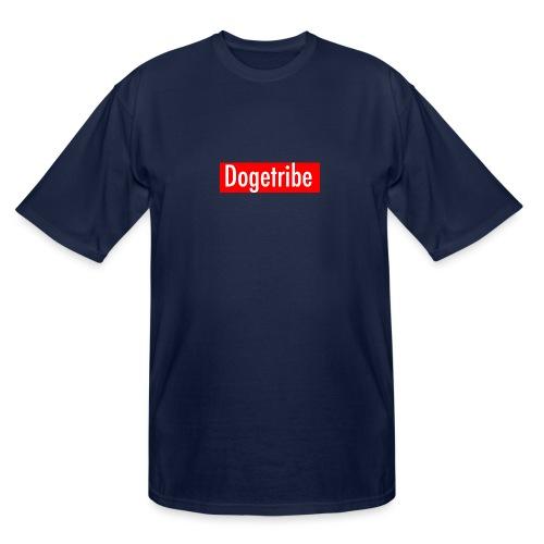Dogetribe red logo - Men's Tall T-Shirt