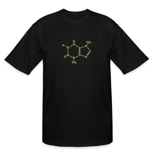 Chocolate (Theobromine) Molecule - Men's Tall T-Shirt