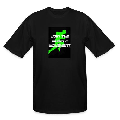 muscle movement - Men's Tall T-Shirt