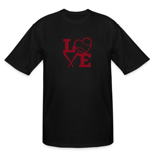 Love baseball - Men's Tall T-Shirt