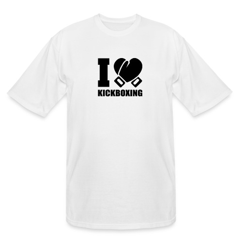 I Love Kickboxing - Men's Tall T-Shirt