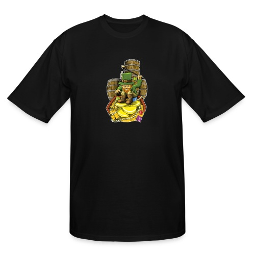 Angry Irish Leprechaun - Men's Tall T-Shirt