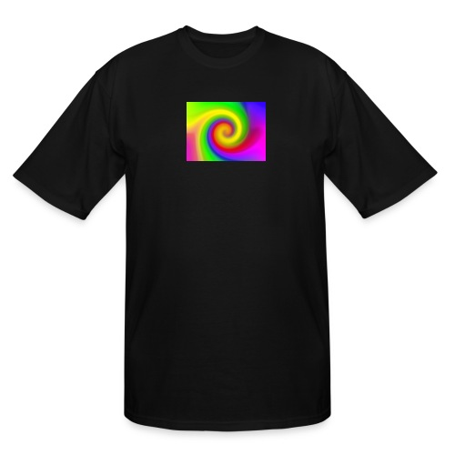 color swirl - Men's Tall T-Shirt