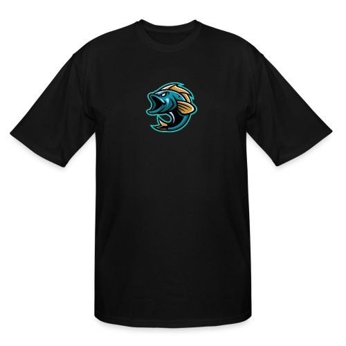 PogFish Logo Only - Men's Tall T-Shirt