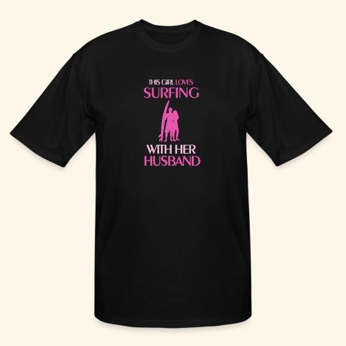 Surf Shirts Womens for Men, Women, Kids, Babies - Men's Tall T-Shirt