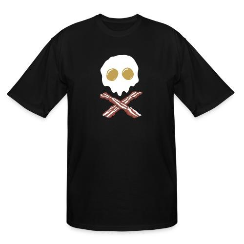 Breakfast Skull - Men's Tall T-Shirt