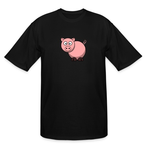 Funny Pig T-Shirt - Men's Tall T-Shirt