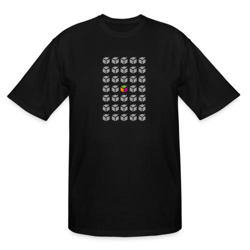 grid semantic web - Men's Tall T-Shirt