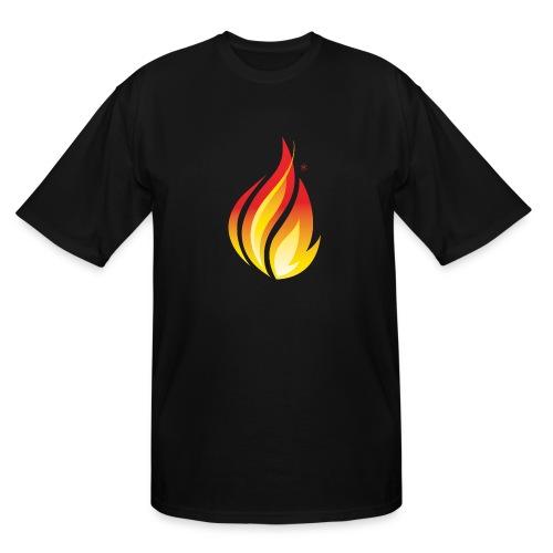 HL7 FHIR Flame Logo - Men's Tall T-Shirt