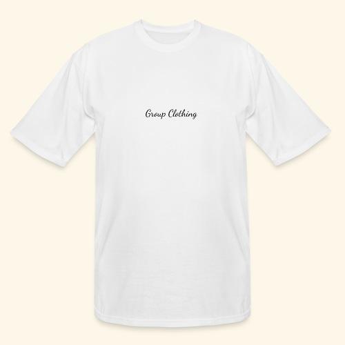 Cursive Black and White Hoodie - Men's Tall T-Shirt