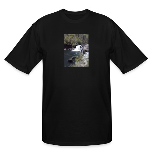 LRC waterfall - Men's Tall T-Shirt