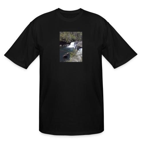 LRC waterfall - Men's Tall T-Shirt