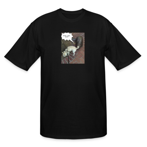 Naughty lil beaver - Men's Tall T-Shirt