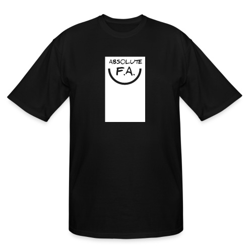 Absolute FA smiley - Men's Tall T-Shirt