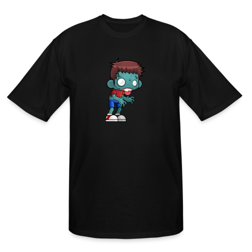 male zombie - Men's Tall T-Shirt