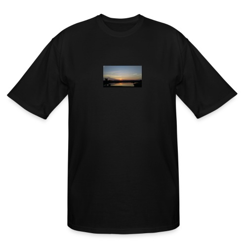 Sunset on the Water - Men's Tall T-Shirt