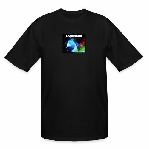 LASERIUM Laser spiral - Men's Tall T-Shirt
