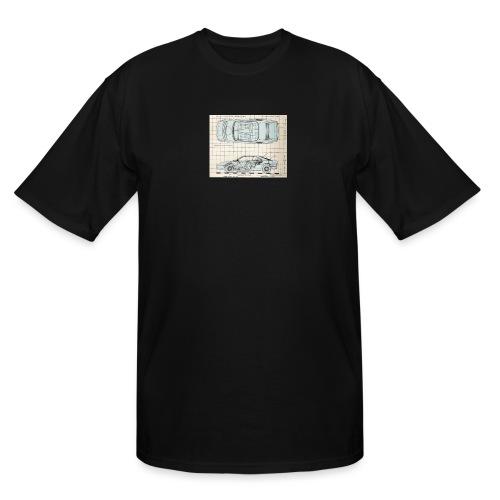 drawings - Men's Tall T-Shirt