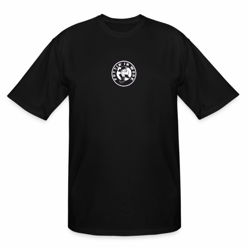 Solid Puttin' In Work Logo - Men's Tall T-Shirt