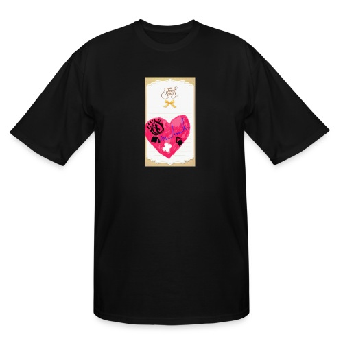 Heart of Economy 1 - Men's Tall T-Shirt