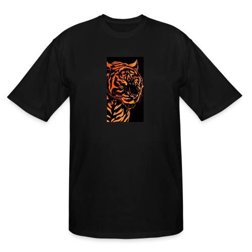 Fire tiger - Men's Tall T-Shirt