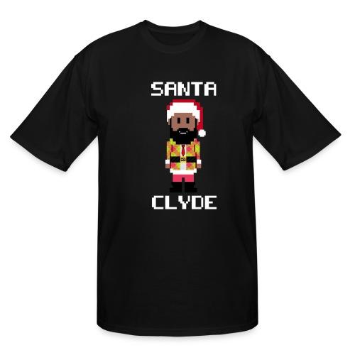 Santa Clyde So Fly (8-Bit) - Men's Tall T-Shirt