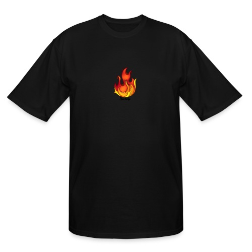 Scorchy Logo Black - Men's Tall T-Shirt