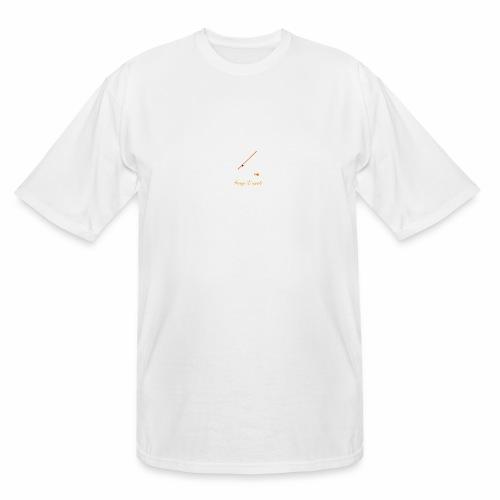 Keep it Reel (Orange) - Men's Tall T-Shirt