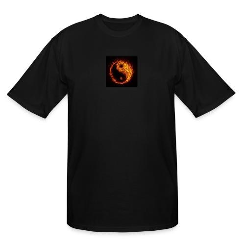 Panda fire circle - Men's Tall T-Shirt