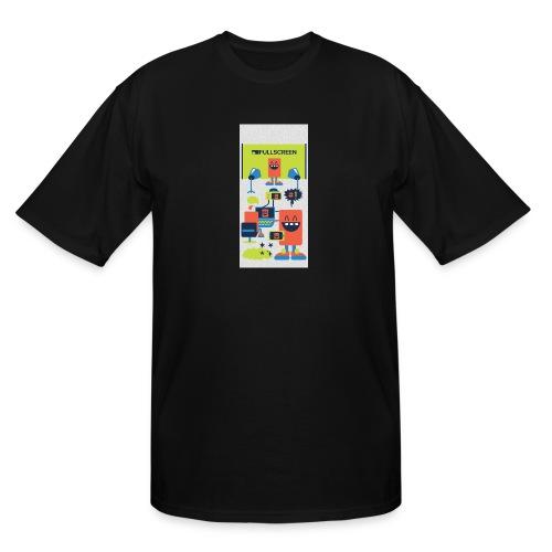 iphone5screenbots - Men's Tall T-Shirt