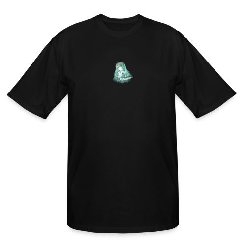 Summrrz Logo Transparent - Men's Tall T-Shirt