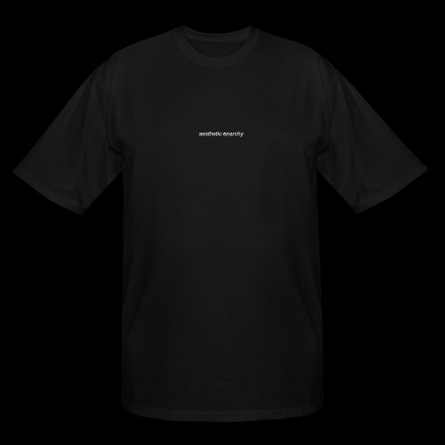 'Black' Aesthetic Anarchy - Men's Tall T-Shirt