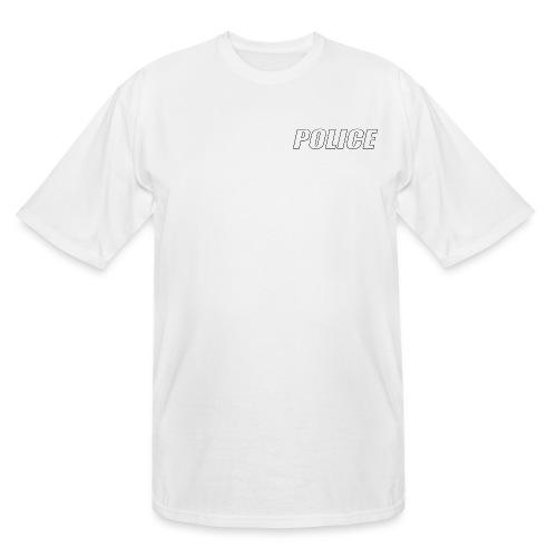 Police White - Men's Tall T-Shirt