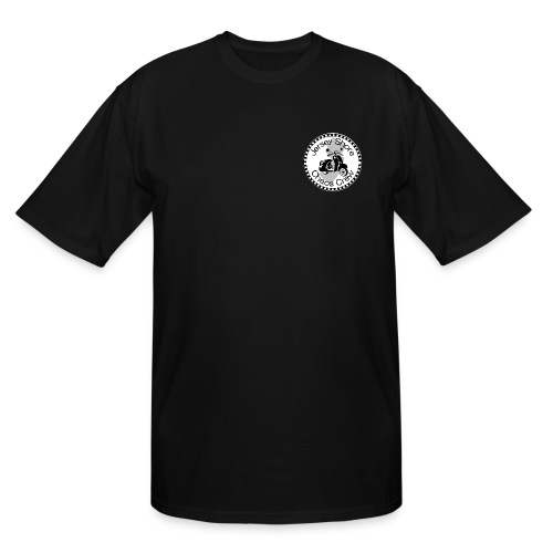 JSCC Logo (White) - Men's Tall T-Shirt