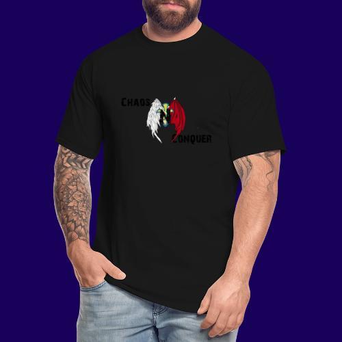 ChaosNConquer Design Logo - Men's Tall T-Shirt