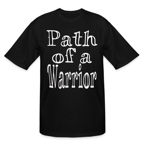 Path of a Warrior - Men's Tall T-Shirt