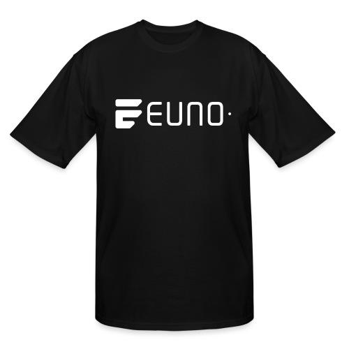 EUNO LOGO LANDSCAPE WHITE - Men's Tall T-Shirt
