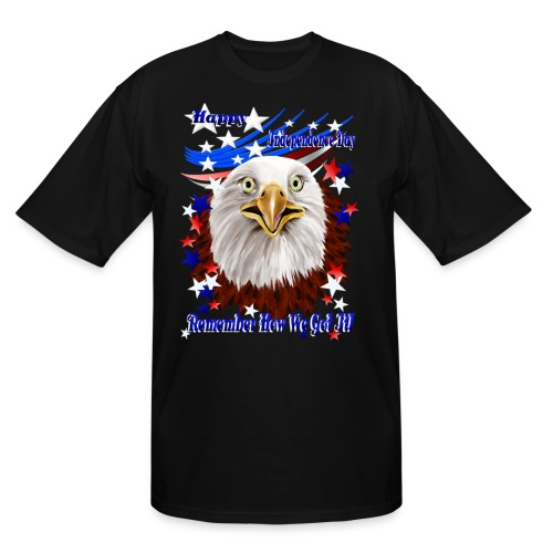 Grand Ol' Eagle-Independence Day - Men's Tall T-Shirt