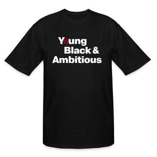 YBA Black Shirt2 - Men's Tall T-Shirt