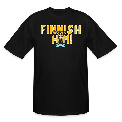 Finnish Him! - Men's Tall T-Shirt