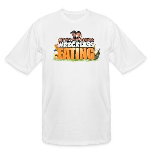 Wreckless Eating Cast Shirt 2015 png - Men's Tall T-Shirt